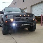 Ford Truck with LED Lighting Fog Lamps