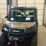 "Polaris Ranger 900XP with 50"" Curved LED Putco light bar"