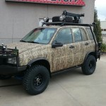 2004 Chevy Tracker Custom Fab. Crane and Suspension (Tracota)