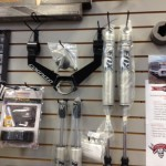 More parts on display in our Showroom