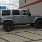 """2015 Jeep Sahara Unlimited Altitude Edition 2.5 "" Teraflex lift M/T ATZP3 35"" M/T MM366"" - Kevin Germain"