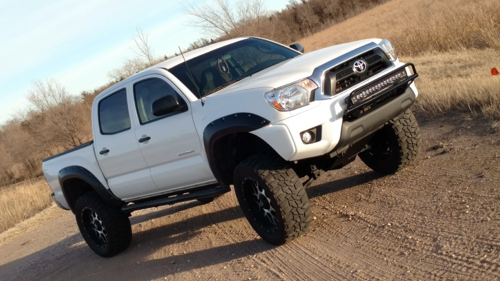 Fun outside in the country.