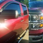 Brianna Wentworth is another one of Truck Stuff's recent happy customers. For her truck we installed a Carbon fiber hood shield and window deflectors. If you are interested in having your truck customize, please take a look at our full list of services, or contact us and we would be happy to help.