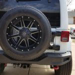My HD tire carrier!! Lovin it!!!